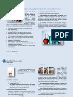 GUÍA de QUÍMICA Propiedades Características de Las Sustancias