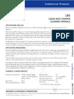AMS - Chemicals LRS Formula
