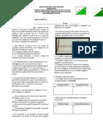 Examen de Física Energía en el MAS y Péndulo Simple