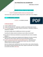 A cura do paralítico de Cafarnaum_ SERMÃO