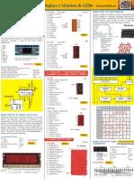 Display Barra y Matrices LED