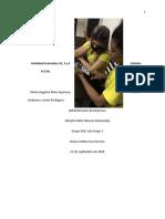 ACTIVIDAD EVALUATIVA No 2, 3 y 4 Cátedra POM  Curso 028. GRUPO No. 7