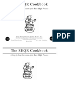 The SEQR Cookbook
