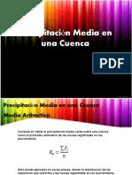 Precipitacion Media en Una Cuenca