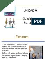 Unidad 5 Subsistema Estructural