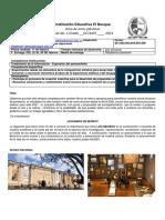 Guía 1 ARTES PLASTICAS OCTAVO 2021