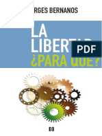 Bernanos, Georges - La Libertad para qué