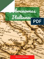 Ebook_ sobrenomes italianos