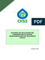 3 Acuerdo de Aplicacion del Convenio Iberoamericano