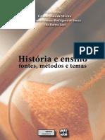 BESSA, Telma Et All.história e Ensino Fontes, Métodos e Temas
