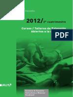 cursos_extension_segundo_cuatrimestre_2012
