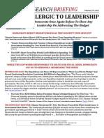 ALLERGIC TO LEADERSHIP