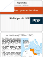 Architecture des Dernières Dynasties Berbères.