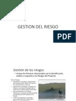 10. Gestion Del Riesgo (1)