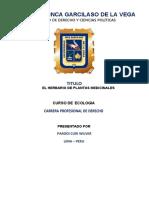 ECOLOGIA - PRACTICA 2 - PARODI CURI WILVER