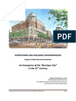 RD Market for Downtowns and Walkable Neighborhoods 2011-2