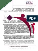 Proyecto Acuerdo Sentencia SX JE 130 2021
