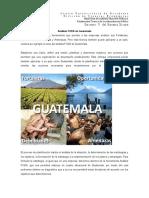 Análisis FODA de Guatemala