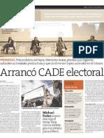 Arranco CADE electoral - Peru21 12-11-10