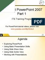 PowerPoint Tutorials - Intro to PowerPoint
