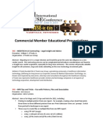 Commercial Member Education