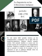 Ingenieria Industrial 1300-1750dC