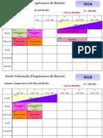 Emplois des temps S15 (31 Mai - 02 Juin 2021) 1ere année modifiés