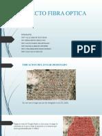 PROYECTO FIBRA OPTICA (LINEAMIENTOS)