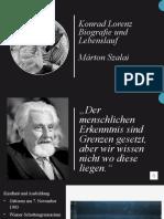 Konrad Lorenz Präsentation Márton Szalai