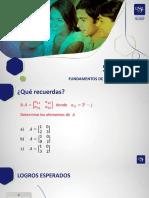 Sem 8.3-Matrices-Definicion y operaciones