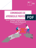 Comunidades de Aprendizaje Profesional