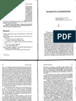 NUNES, Benedito_Fragmentos da Modernidade_In No tempo do niilismo e outros ensaios