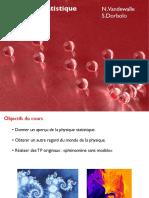 Physique Statistique - N.Vandewalle et S.Dorbolo