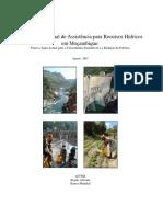 PT Estrategia Nacional de Assistencia Para Recursos Hidricos Em Moçambique Banco Mundial