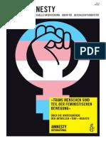 Queeramnesty-Magazin Nr. 23 (Juni 2021)
