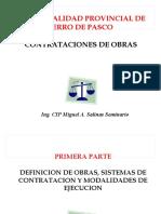 Contrataciones de Obras - Pasco 2014