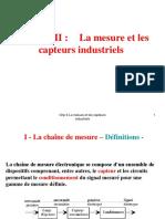 Chp II-La Mesure Et Les Capteurs Industriels