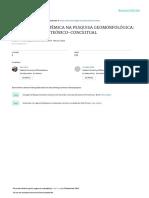 A TEORIA GEOSSISTÊMICA NA PESQUISA GEOMORFOLÓGICA UMA ABORDAGEM TEÓRICO-CONCEITUAL.Girão.2016