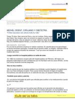 clubdelateta REF 171 Entrevista a Michel Odent Como nacemos nos afecta toda la vida 1 0
