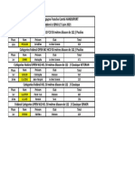 TIR A L'ARC Classements Championnat Bourgogne-Franche-Comté handisport à Sens 5 et 6 Juin 2021