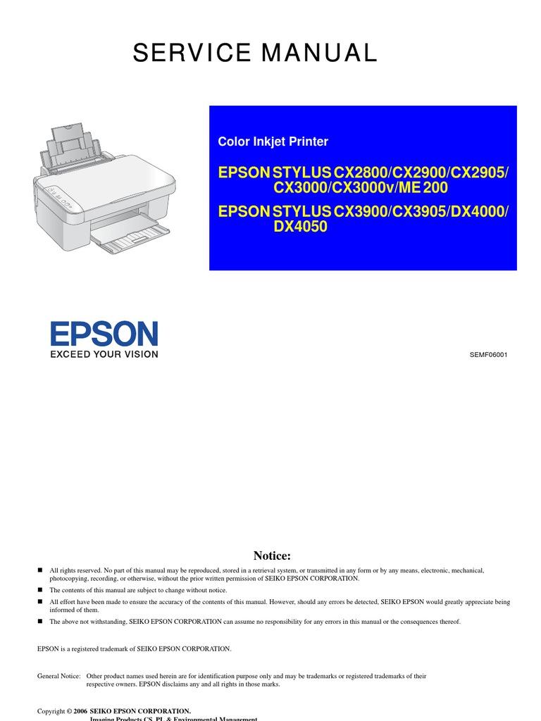 driver scanner epson cx2800 windows 7