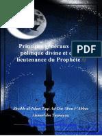 Principes généraux de la politique divine et de la lieutenance du Prophète