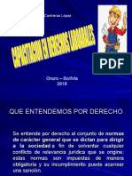 Capacitacion de Derechos Laborales 2018