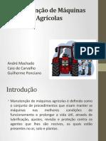 tratores agrícolas manutenção