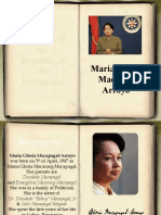 Gloria MAcapagal Arroyo complete biography (ultimate the best powerepoint! )
