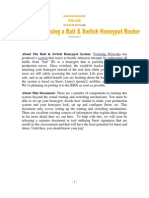 Bait and Switch Honeypot HOWTO