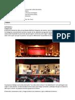 SECUENCIA 25. Teatro, Sinónimos, antónimos uso de la H
