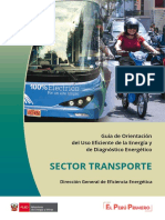 guia sector transporte
