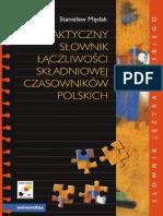 9 praktyczny_slownik_laczliwosci_skladniowej_czasownikow_polskich  1001 ĐỘNG TỪ