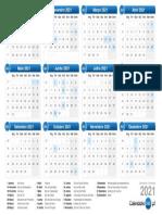 Calendário Organizer